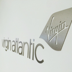 Brushed Steel Office Logos